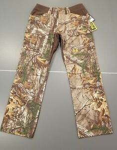 Under Armour Pants Scent Control Hunting Camo Realtree Xtra 38x32 38 32 Men's $65.00