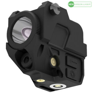 Laspur Compact Green Laser Sight Flashlight Light Combo Magnetic Touch Recharge