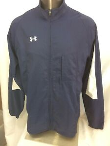 Mens Under Armour All Season Gear Loose Full Zip Jacket XLT