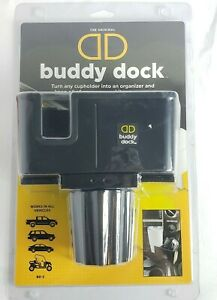 Buddy Dock Car Truck Cup Holder Organizer Fits Any CupholderVehicle Adjustable