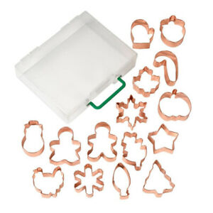 Wilton Copper Fall amp; Winter Cookie Cutters Set of 15 $24.99