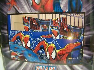 Marvel Ultimate Spider-Man Single Standard Pillow Sham