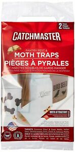 CatchMaster 6 Pantry Moth Traps (3 Packs of 2 Each)