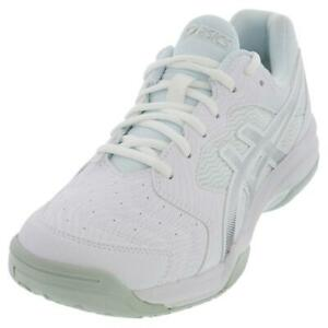 ASICS   Men`s GEL-Dedicate 6 Tennis Shoes White and Silver