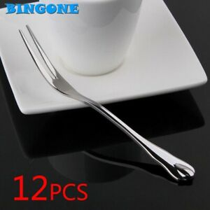 Wholesale 12 pcs/lot Silver Forks Western Food Dinnerware Set Top Quality 410 St