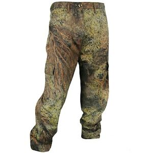 Cotton Mill Hunting Pants for Men Camouflage Clothes Mossy Oak Camo