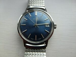 VINTAGE ROTARY 17 JEWEL WRIST WATCH, VERY NICE CONDITION