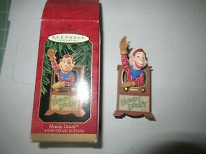 Hallmark Keepsake Howdy Doody Anniversary Edition ornament box NICE