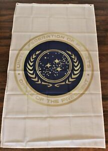 United Federation of Planets Banner Flag Star Trek Office of the President New