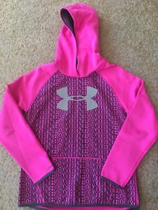 Girls Under Armour Hoodie Youth Large