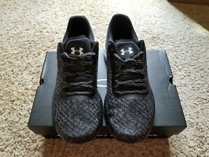 NEW UNDER ARMOUR CHARGED ESCAPE 2 BLACK SIZE 13 MENS RUNNING SHOES 3020333-002