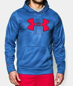 Under Armour UA Storm Armour Big Logo Rattle Hoodie 3XLT Tall Loose Fit