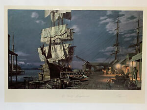 John Stobart Seattle Lithograph Hand Signed & Numbered