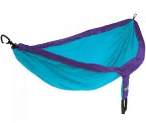 Eagles Nest Outfitters ENO SingleNest Hammock - Purple and Teal