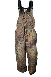 Bowman Waterproof Breathable Insulated Camo Hunting Bib for Men