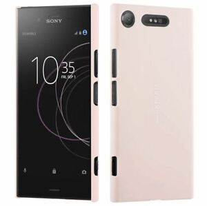 Roxfit Sony Xperia XZ1 Soft Touch Slim Shell Case Pink