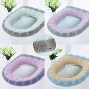 FAD Toilet Seat Closestool Washable Soft Winter Warm Mat Cover Pad Cushion