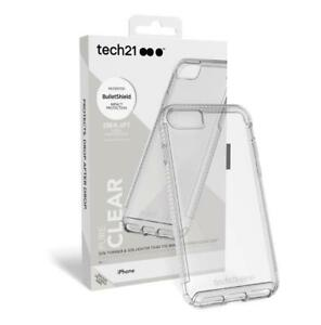 Tech21 Pure Clear Series Drop Impact Protection Case Apple iPhone 8 / iPhon