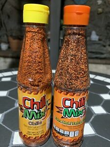 CHILI MIX Powder with Lemon Chile en Polvo con Limon Hot or Extra Hot 4.4 oz