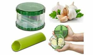 Garlic Pro Vegetable Onion Food Quick Chopper Cutter Slicer Dicer+EZ Peel Peeler