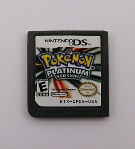 Pokemon: Platinum Version Nintendo DS Version Game Cartridges for 3DSNDSI2DS