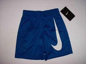 Nike Shorts Boys Dri Fit Athletic Running Jogging Exercise Active 4XS 3 4 Yr New $17.99