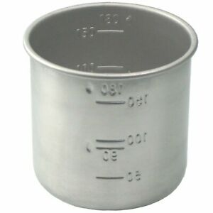 Stainless Steel Rice Measuring Cup 1 for Rice Cookers all Brands such as Aroma $6.99