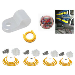 Mounting Clips for Rope Light 100 Pack Plastic Decorating Outdoor Christmas