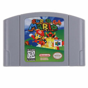 Nintendo N64 Game Super Mario64 Video Game Cartridge Console Card USCAN Version