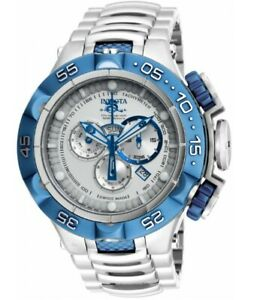 Invicta Subaqua Noma V 50mm Swiss Made Chrono SS Bracelet 15915