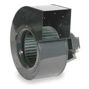 DAYTON 1TDU2 Rectangular OEM Blower 1390 RPM 1 Phase Direct Rolled Steel