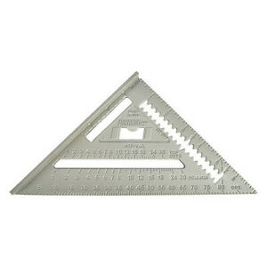 Johnson Ras1 Rafter Angle Square7 InAluminum