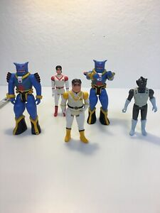 Lot of 5 Vintage of Vultron action figures W.E.P. 1984 $39.99
