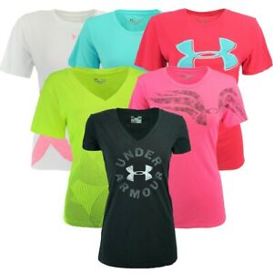 Under Armour Women's Graphic Mystery T-Shirt Assorted S