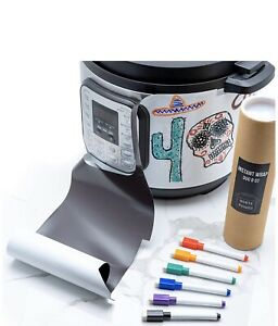 Instant Pot Magnetic Whiteboard Wrap 8 Quart DUO With Markets