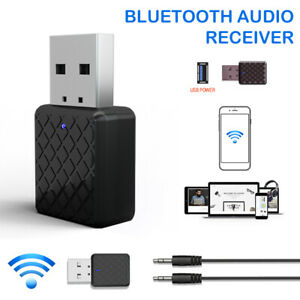2in1 Bluetooth Transmitter Receiver USB Wireless Stereo Audio Adapter Dongle PC