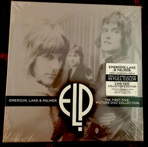 Emerson Lake & Palmer The First Five Picture Disc Collection Sealed!! Ltd #439