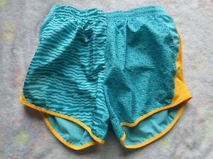 NIKE AQUA BLUE RUNNING SHORTS GIRLS SIZE LARGE OUTSTANDING PRE-OWNED CONDITION