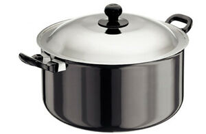 Hawkins H/A 8 L Cook n Serve Stewpot 28cm Cooking Bowl With Stainless Steel Lid