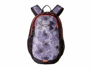 UA UNDER ARMOUR Womens Girls Scrimmage Storm backpack lavender Flowers