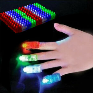 80 LED Finger Lights Bright Party Favors Party Supplies Light up Toys