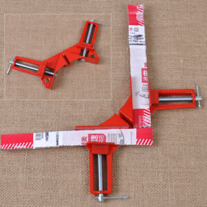 Useful Angle Miter Holder Woodwork Corner 90° Right Clamp 3quot; capacity Picture $8.33