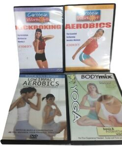 Workout DVDs Caribbean Body and Soul Fitness BodyMix FOUR DVDs $18.00