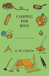 Camping for Boys by Gibson W. New 9781444631937 Fast Free Shipping