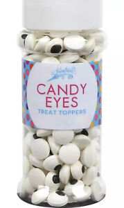 New Festival Candy Eyes Toppers, 2.5 oz Food Decorative Cupcake cake
