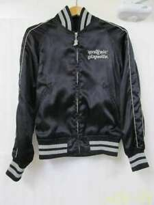 HYSTERIC GLAMOUR SUKAJAN Black souvenir jacket vintage from Japan