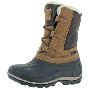 Revelstoke Womens Hannah Brown Snow Winter Boots Shoes 11 Medium BM BHFO 1888