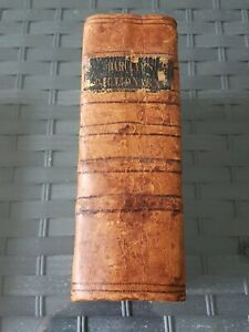 ULTRA RARE Barclays English Dictionary Leather Bound 1st Ed 1790?