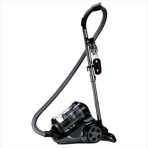 Ovente Bagless Canister Cyclonic Vacuum 1400W Bendable Multi Angle Black ST2620B $115.99