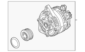 Genuine Ford Alternator BR3Z-10346-A